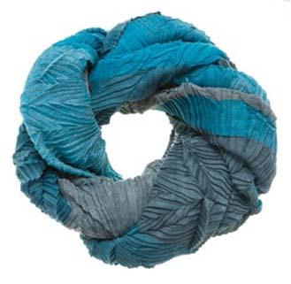 Индиго шарф