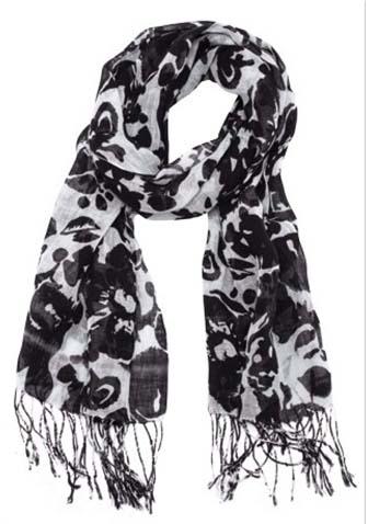 Контраст шарф