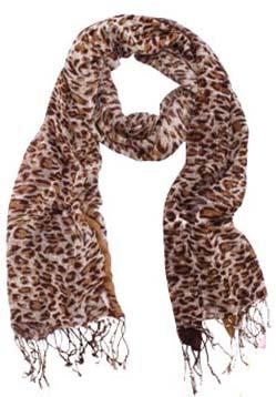 Леопард шарф