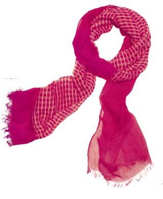 Маджента шарф