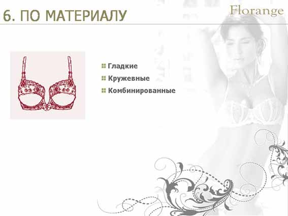 Florange - бюстгальтер - материал описание