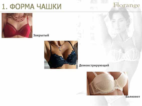 Florange - бюстгальтер - форма чашки фото