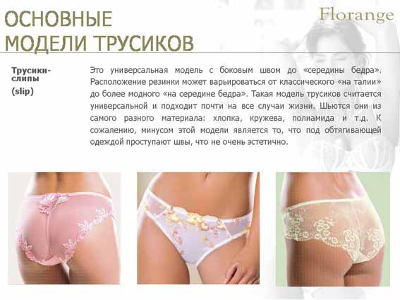 Florange - трусики-слипы