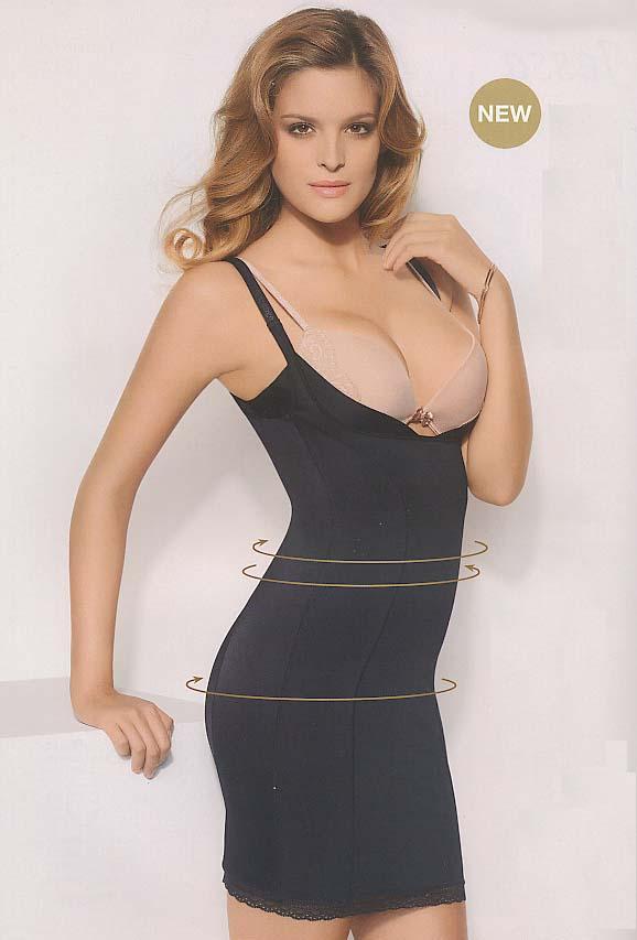 Elisa черное платье без чашек