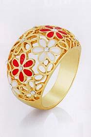 Flora кольцо