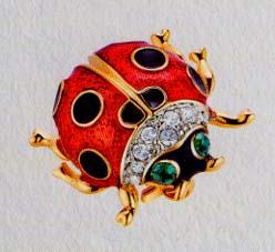 Ladybird брошь