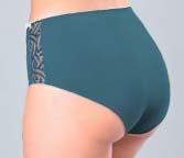 Lorena трусики-слипы с завышенной талией, размер вид сзади