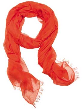 Orange женский шарф